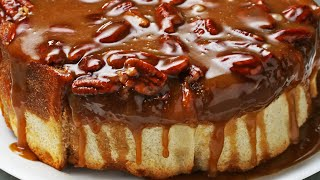 Sticky Bun Cake by Tasty