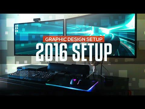 , title : '2016 Graphic Design Work Setup'