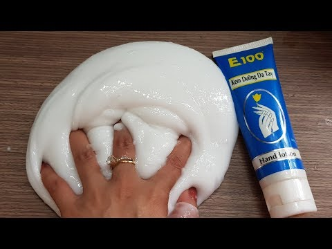 Water Hand Lotion Slime, DIY Hand Lotion Water Slime