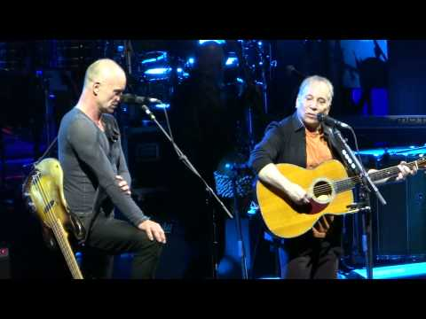 Sting & Paul Simon Live With