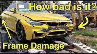 Video I Bought a Frame Damaged BMW M4 From Salvage Auction It WAS WORSE THAN I THOUGHT MP3, 3GP, MP4, WEBM, AVI, FLV Agustus 2019