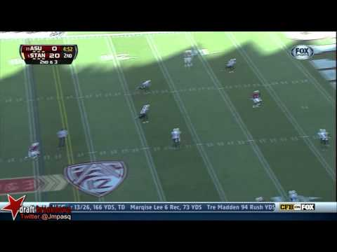 Kevin Hogan vs Arizona St. 2013 video.