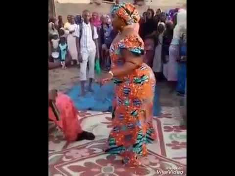 Hausa Woman Dancing Great