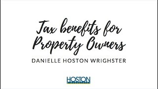 Tax benefits for property owners