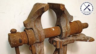 Rusty Imprecise Leg Vice - Perfect Restoration