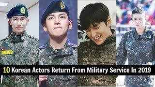 Video 10 Korean Actors Are Set To Come Back In 2019 After Completing Military Service MP3, 3GP, MP4, WEBM, AVI, FLV Februari 2019