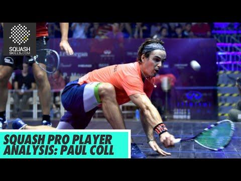 Squash Pro Player Analysis: Paul Coll