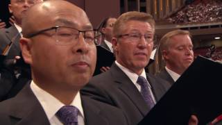 "The Mormon Tabernacle Choir sings, ""Oh Say, What is Truth?."""