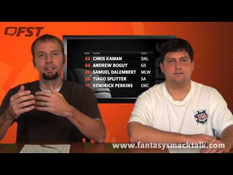 2012-2013 Fantasy Basketball Center Tiers and Rankings