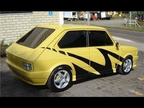 Super FIAT 147 TURBO pegando racha - Tuning