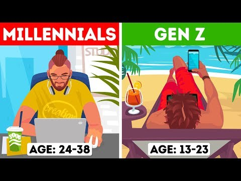 Generations X, Y, and Z: Which One Are You?