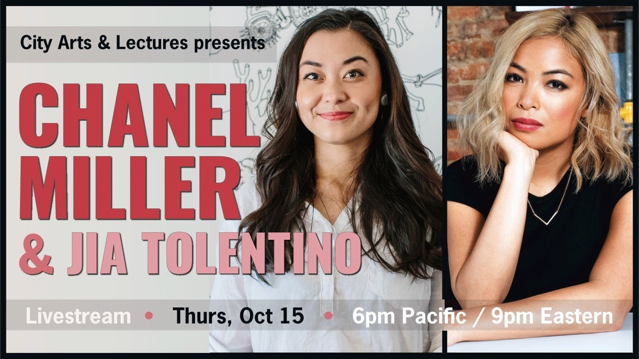 City Arts & Lectures presents Chanel Miller & Jia Tolentino