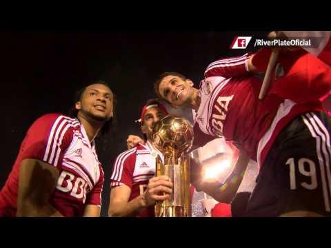 River campe�n Recopa Sudamericana 2016: los festejos, desde adentro