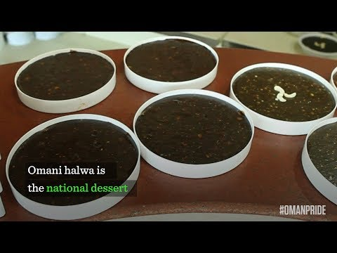 Video: Oman's national dessert — Omani halwa