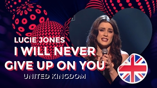 Feb 9, 2017 ... Lucie Jones - Never Give Up on You (lyric video) - Eurovision Song Contest 2017 nUNITED KINGDOM. iHeartEurovision. Loading.