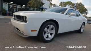 Autoline's 2012 Dodge Challenger SXT Walk Around Review Test Drive