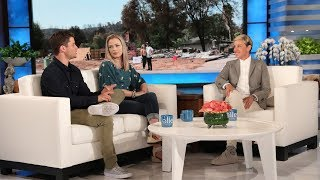 Video Ellen Surprises California Firefighter Who Lost His Home MP3, 3GP, MP4, WEBM, AVI, FLV September 2018