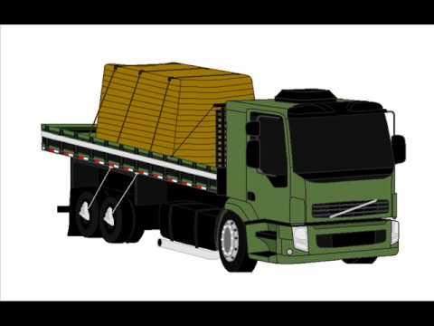 desenho de caminhão volvo vm em 3d casa do mercedes auto peças