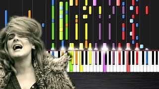Adele - Hello - IMPOSSIBLE PIANO  Ноты и М�Д� (MIDI) можем выслать Вам (Sheet music for piano)