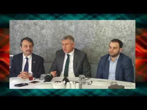 Başkan Sarıalioğlu Of'a Yapılacak Projeleri Anlattı