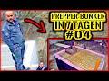 PREPPER BUNKER in 7 TAGEN BAUEN #04 | BUNKERKLAPPE in DECKENBEWEHRUNG einbauen | Home Build Solution