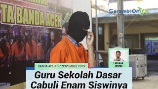 Cabuli Enam Siswinya, Guru Sekolah Dasar di Banda Aceh Ditangkap Polisi