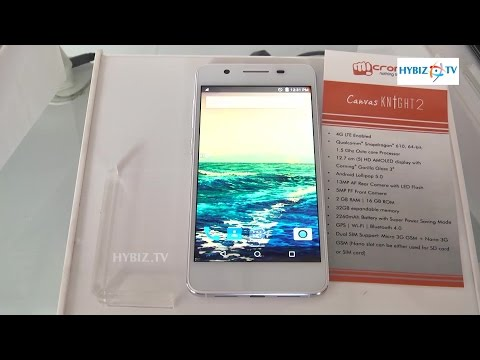 Micromax 4G Canvos Knight 2 13MP 16GB  Review Specs Features -Hybiz.tv
