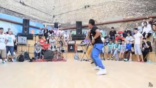 Танцевальный батл: Сальса VS Брейк-дэнс. Смотрим классное видео.