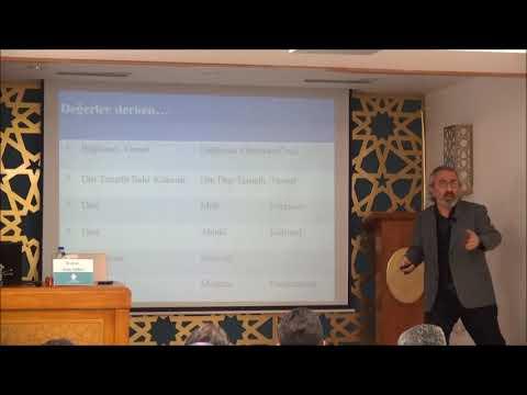Prof. Dr. Asım YAPICI / Cumartesi Konferansları - IV / TÜRKİYE'de DİNDARLIK ve DEĞERLER
