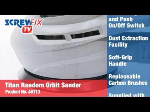Titan TTB289SDR 125mm Random Orbit Sander 230V