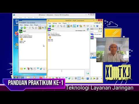 Membuat Aplikasi Chating dalam LAN, Materi Praktikum Teknologi Layanan Jaringan (TLJ) XI TKJ