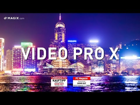 MAGIX Video Pro X: High-end video production