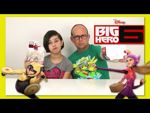 hero - Big Hero 6 - GoGo Tomago and Honey Lemon Toy Action Figure Review. Thank you for watching! RadioJH Auto! https://www.youtube.com/RadioJHAuto RadioJH Games!