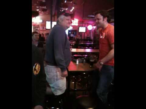 Ron Baker Bar Stool Dancing