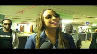 Alaine Arrives In Kenya