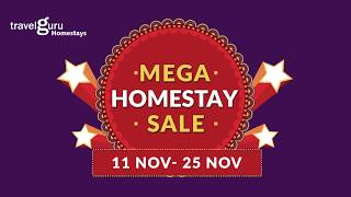 Travelguru Homestays' Mega Sale-15 Days of Awesomeness