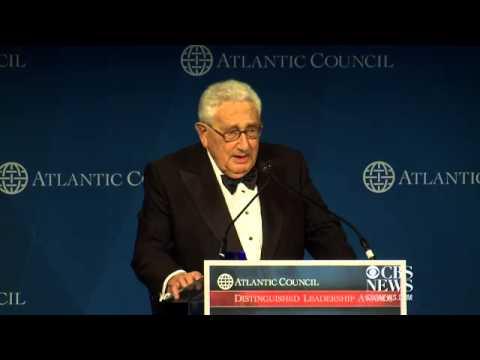 Henry Kissinger teases Hillary Clinton for president