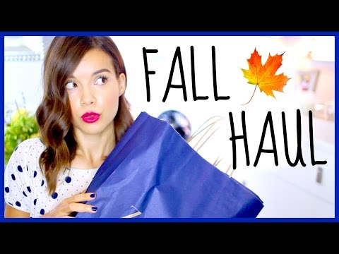 haul - YAY!! It's that time of year… when pumpkin spice lattes come down from the heavens and grace us with their presence once again! ;) Missed my last video? No worries! Watch it here: http://youtu....