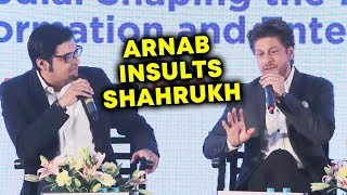 Video Shahrukh Khan BEST REPLY To Arnab Goswami INSULT MP3, 3GP, MP4, WEBM, AVI, FLV April 2018