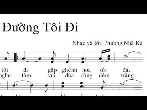 """MC VIỆT THẢO- MUSIC- Nhạc Phẩm """"ĐƯỜNG TÔI ĐI"""" của Phương Nhã Ka- March 20, 2019. - Thời lượng: 6 phút, 38 giây."""