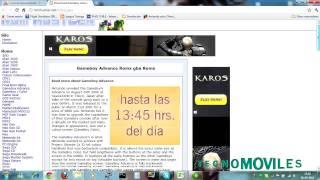 Tutorial: Roms Para El Emulador De Game Boy Advance Para Android En Español