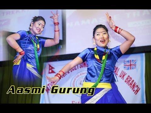 (Pirati Basyo || Actress Aasmi Gurung Performance in UK ...5 min, 3 sec.)