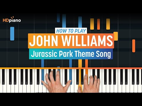 Jurassic Park Soundtrack Theme Song - John Williams video tutorial preview