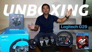 UNBOXING Logitech G29+Shifter & GT Sport Gameplay (PS4)