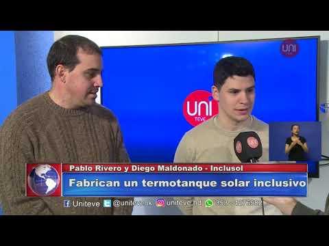 Alumnos de la UNVM desarrollan termotanques solares