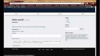 Wordpress Development Tutorials - Pt 11: HTML CSS To Theme - Twitter Bootstrap Comment Section