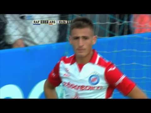 Increíble Werner. Rafaela 0 – Argentinos 2. Fecha 16. Primera División 2016.