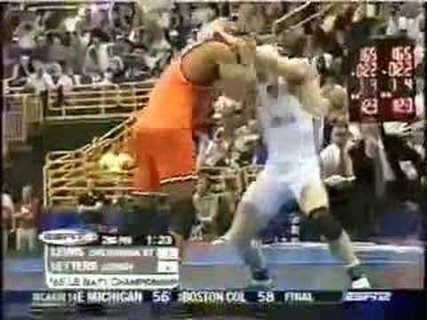 2004 NCAA Finals 165: Letters (Lehigh) vs Lewis (Okla St)
