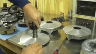 2. CVtech Trailbloc clutch assembly disassembly breakdown