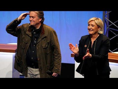 Steve Bannon: Auftritt beim FN-Parteitag